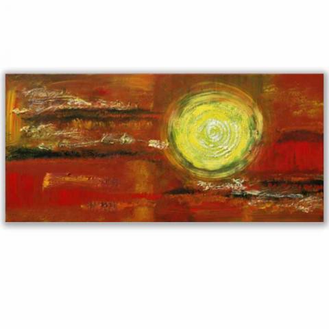 """Acrylbild """"Point 2"""" 50 x 100 cm"""