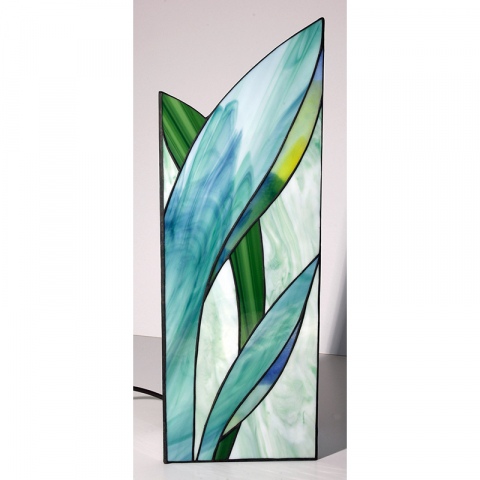 "Tiffany Leuchte ""April"" Tiffany Stil, Stained glass, Handmade"